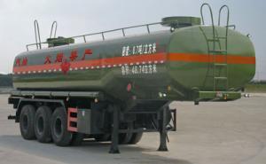 湖北程力 11.5米 三桥半挂车 48.74立方易燃液体罐式运输半挂车