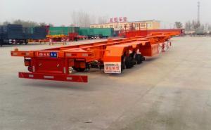 梁山长虹 45英尺 骨架式集装箱运输车