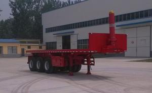 华鲁专汽 9米 31.9吨 3轴 平板自卸半挂车 HYX9400ZZXP