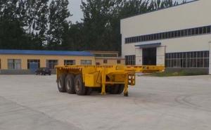 华鲁专汽 8.5米 35吨 3轴 集装箱运输半挂车 HYX9402TJZ