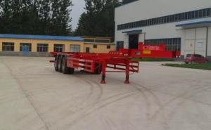 华鲁专汽 15米 34.5吨 3轴 集装箱运输半挂车 HYX9400TJZE