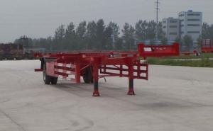 华鲁专汽 12.5米 12.3吨 1轴 空载集装箱运输半挂车 HYX9150TJZ