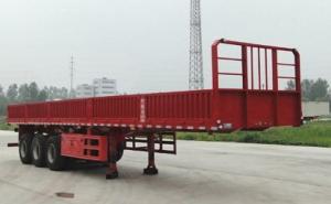 华鲁专汽 10.5米 33.8吨 3轴 栏板半挂车 HYX9401