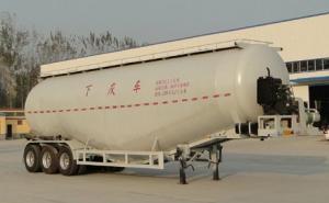 华鲁专汽 13米 27.8吨 3轴 下灰半挂车 HYX9402GXH