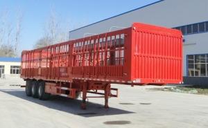 华鲁专汽 12米 34.3吨 3轴 仓栅式运输半挂车 HYX9402CCYE
