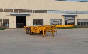 华鲁专汽12.5米 34.1吨 3轴 集装箱运输半挂车 HYX9401TJZ