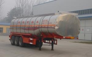 华鲁专汽 11.2米 30.4吨 3轴 液态食品运输半挂车 HYX9401GYS