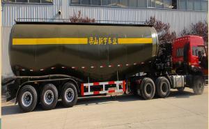 梁山新宇 10.3米 31吨 3轴散装水泥运输半挂车