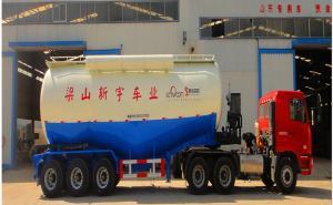 梁山新宇13米 28吨 3轴散装水泥运输半挂车