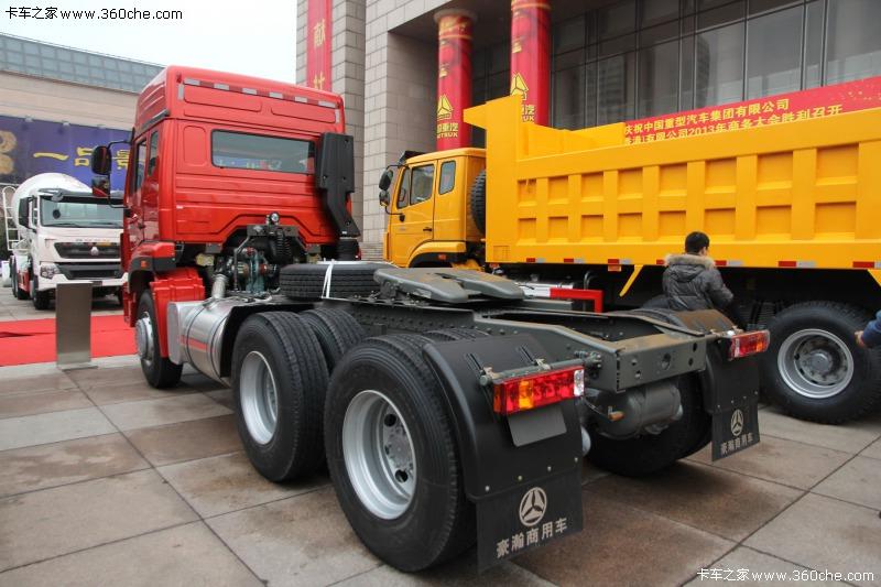 中国重汽豪瀚重型牵引车