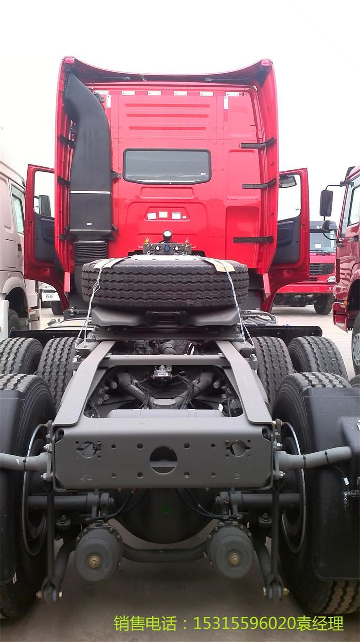 曼红,T7H-G驾驶室,豪华驾驶室,MC11.43-30,430马力,进气电加热,国三,HW19712CL,自动间隙调整臂,MCY13Q,3.7,ABS+连接半挂车的ABS螺旋电缆,315/80R22.5,HF7盘式前轴,带空调,90#,金刚,180AH,选装电加热油水分离器。