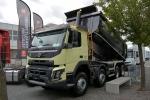 沃尔沃/Volvo FMX系列  420马力 8×4 自卸车 沃尔沃 FMX重卡