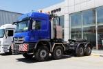 奔驰 Actros重卡 610马力 8×8 牵引车(型号4160)