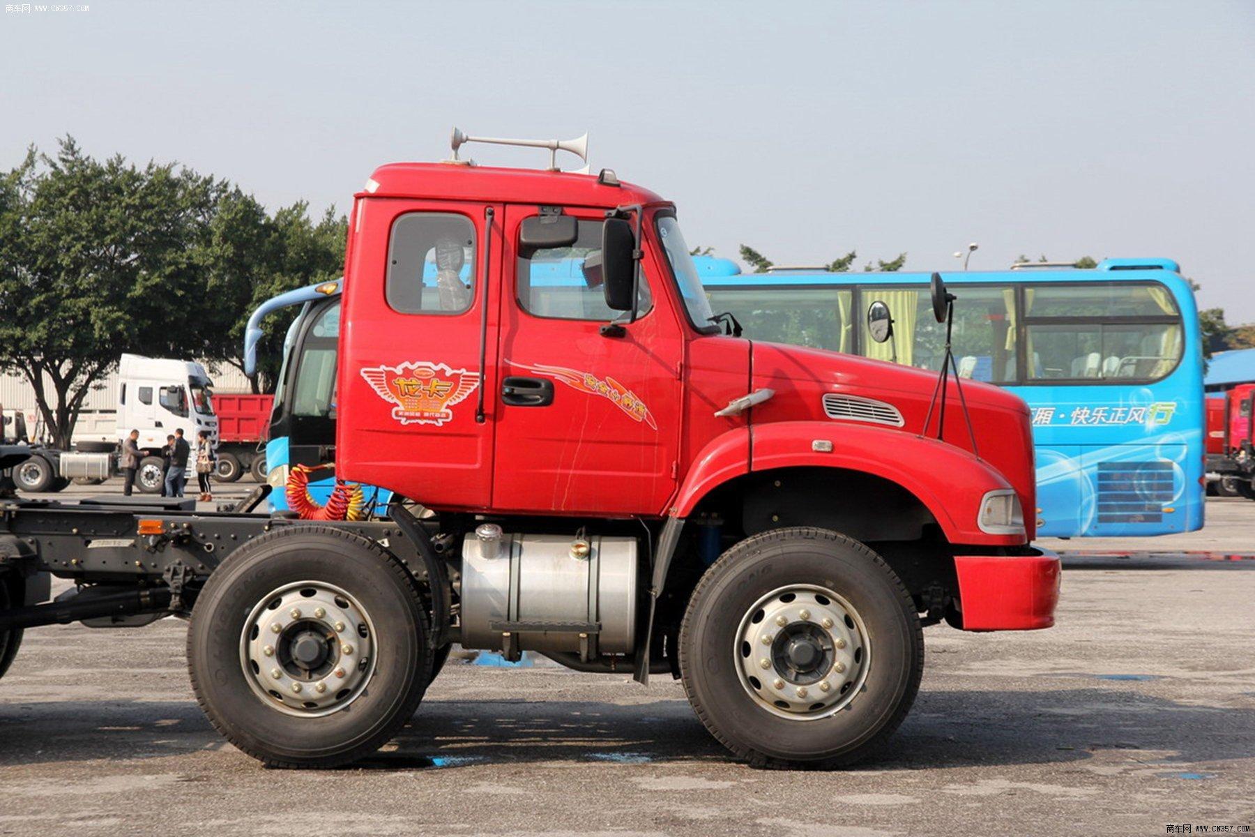 东风柳汽 龙卡 重卡 290马力 6×2 牵引车 lz4231jcq