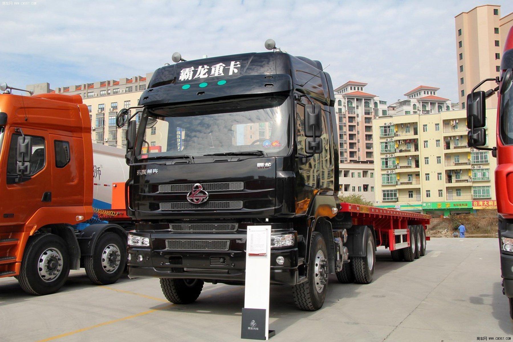 东风柳汽 霸龙m5 重卡 400马力 4×2 牵引车 lz4180m5aa