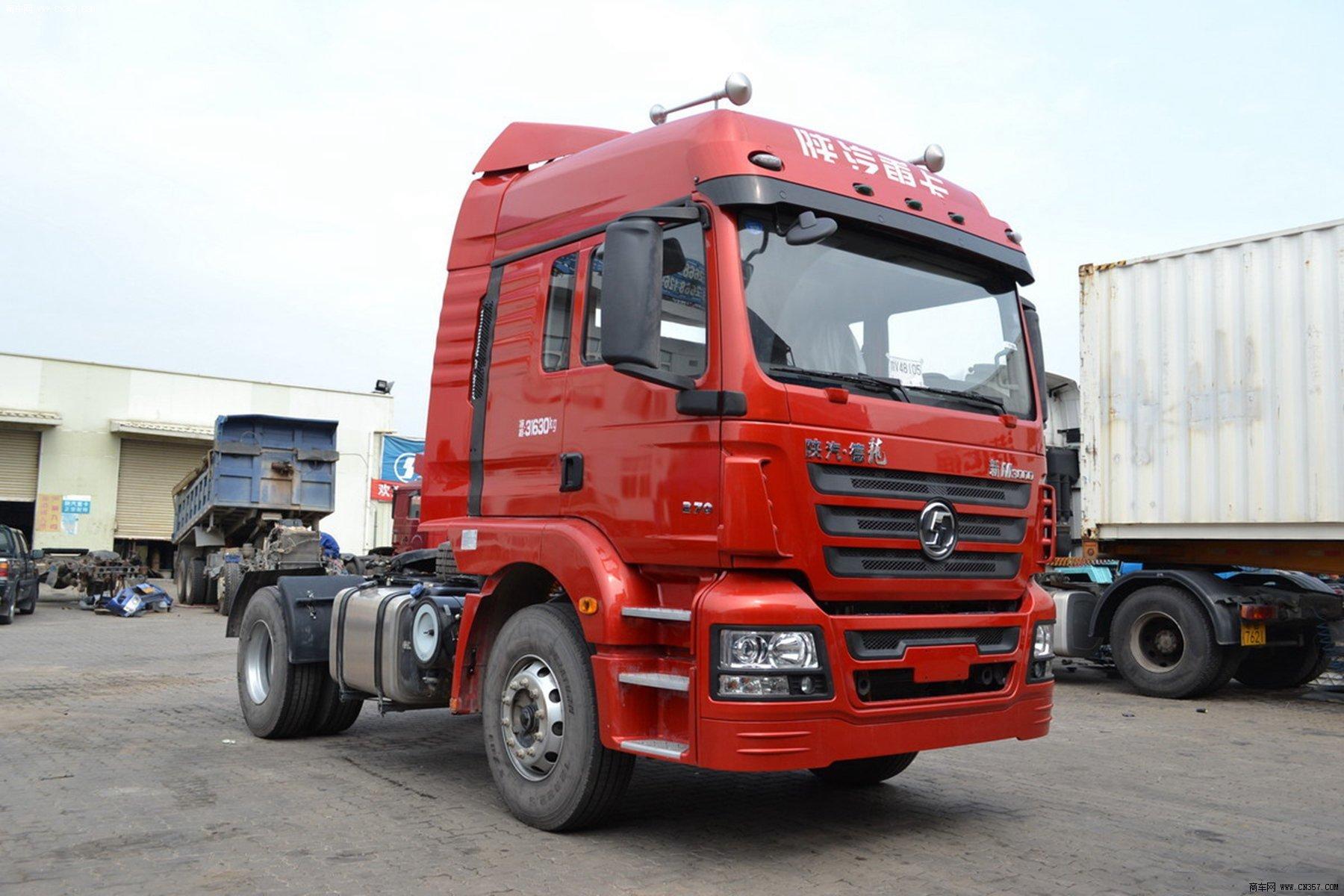 陕汽 德龙m3000 重卡 270马力 4×2 牵引车 sx4186gn361
