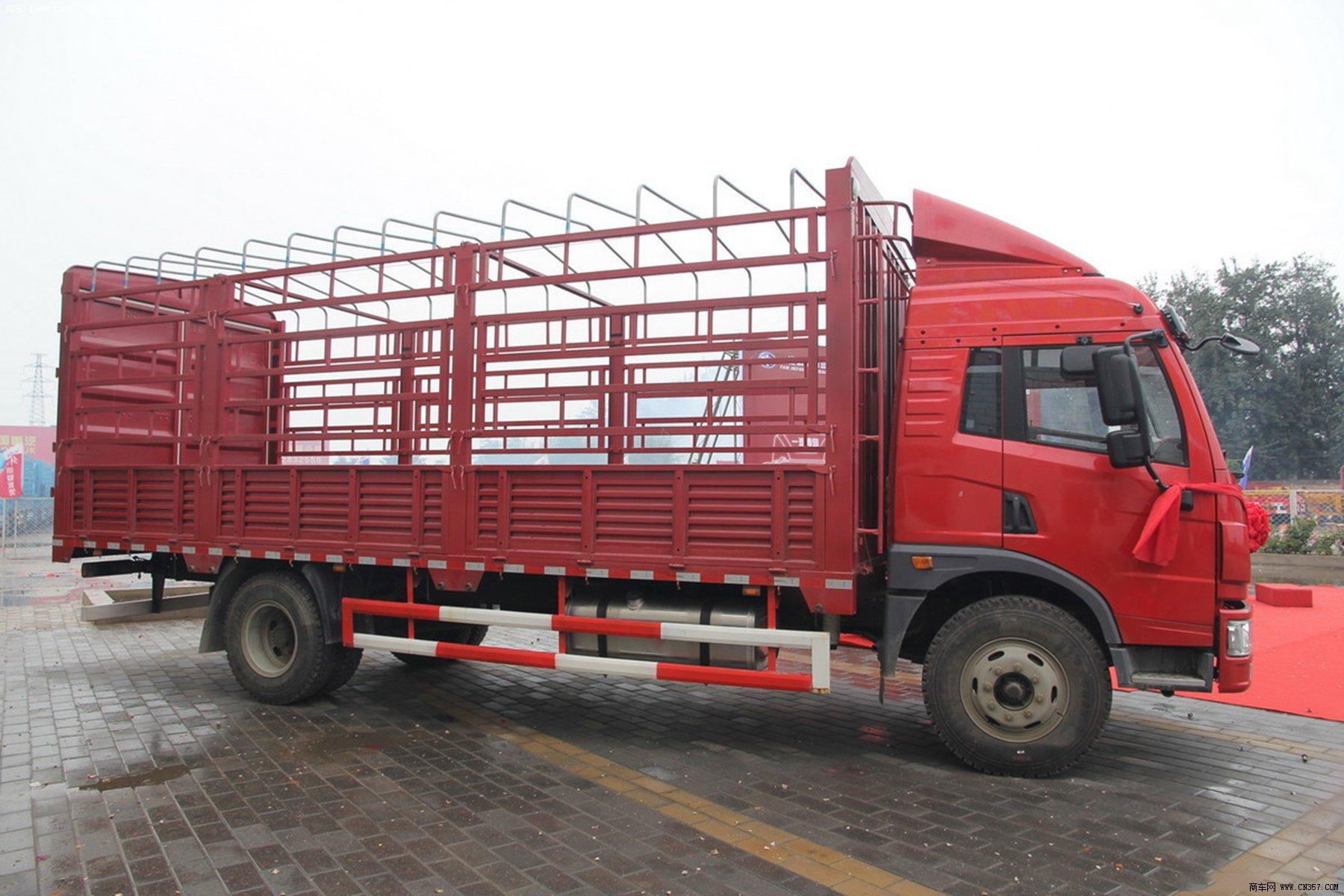 解放 龙v 中卡 160马力 4×2 仓栅式 排半 载货车 ca5168ccypk2l2e4a图片