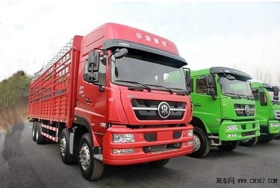 中国重汽新款斯太尔火热促销