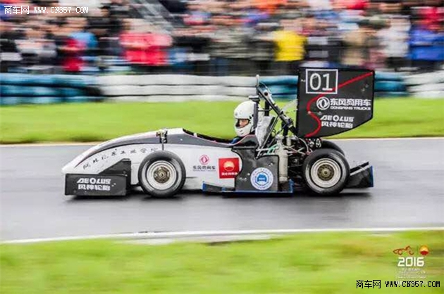 汽院获全国大学生方程式赛车大赛季军图片