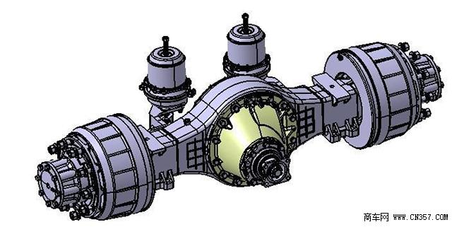 赛龙二后桥结构图